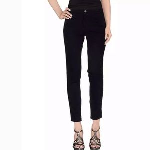 Stella McCARTNEY Black Ankle zip skinny jeans 27
